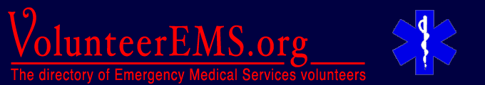 VolunteerEMS.org - The directory of Emergency Medical Services volunteers